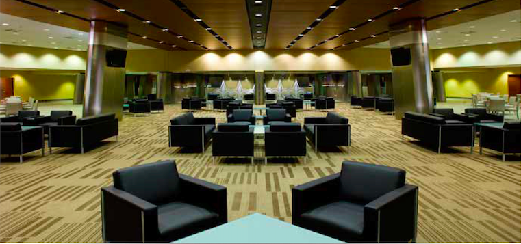 Superdome interior